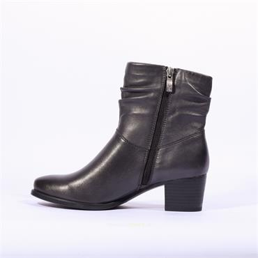 Caprice Folder Cuff Ankle Boot Balina - Grey Leather