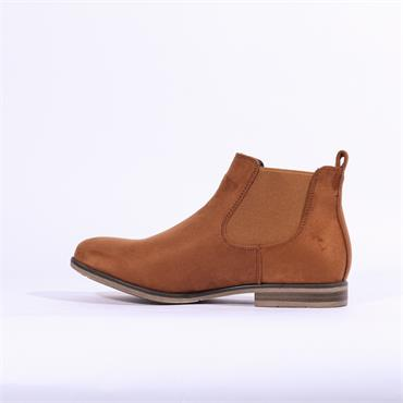 Rieker Flat Boot With Side Gusset - Tan