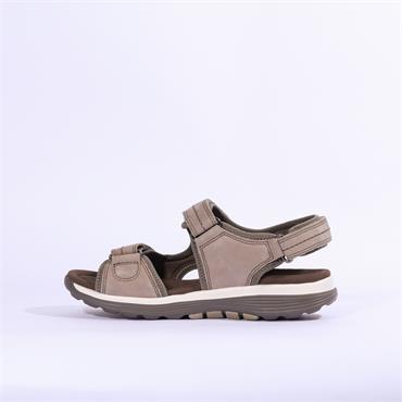 Gabor Rolling Soft Sandal - Grey