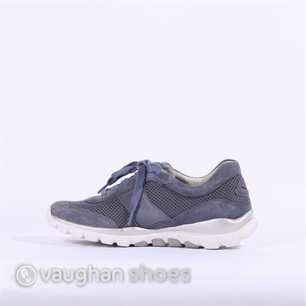 53c7533193b7a Gabor Rolling Soft Mesh Helen - Blue Nubuck | Vaughan Shoes | Ireland