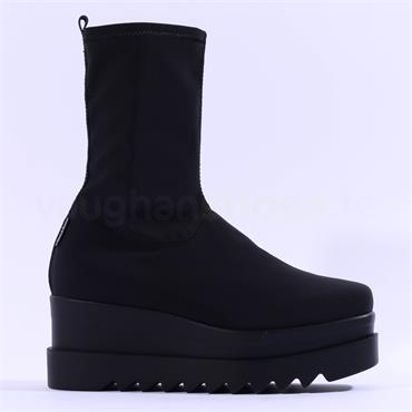 Marco Moreo Luna Stretch Ankle Boot - All Black