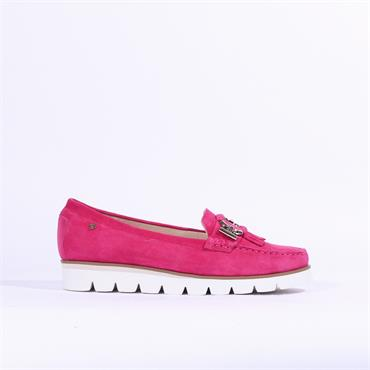 Amy Huberman Some Like It Hot - Fuchsia Suede