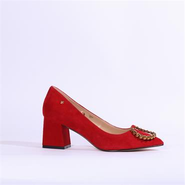 Amy Huberman Timing - Red Suede