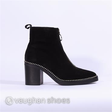 Alpe Ankle Boot Front Zip Naomi - Black