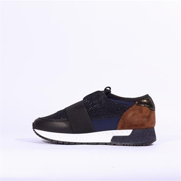 Alpe Estella Casual Trainer With Band - Navy Combi