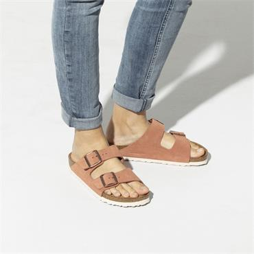 Birkenstock Arizona Soft Footbed Suede - Earth Red