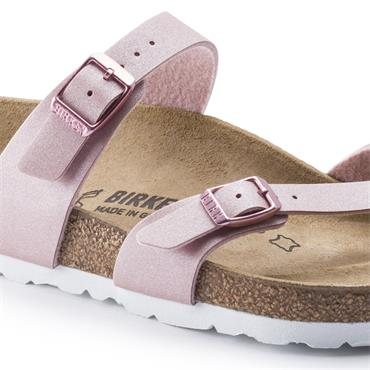 Birkenstock Mayari Birko-Flor - Icy Metallic Old Rose