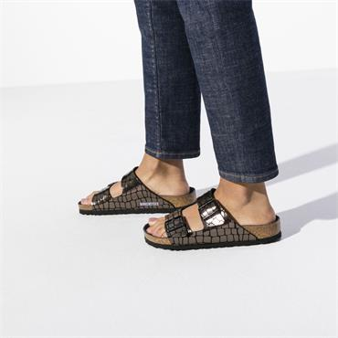 Birkenstock Arizona Micro Fibre - Gator Gleam Black