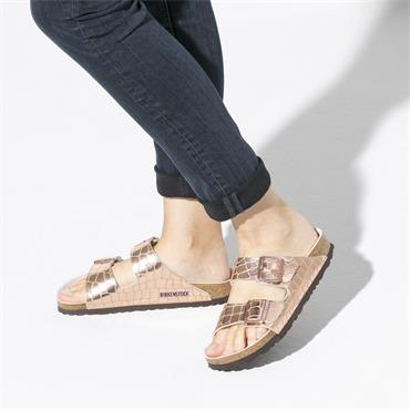 Birkenstock Arizona Micro Fibre - Gator Gleam Copper