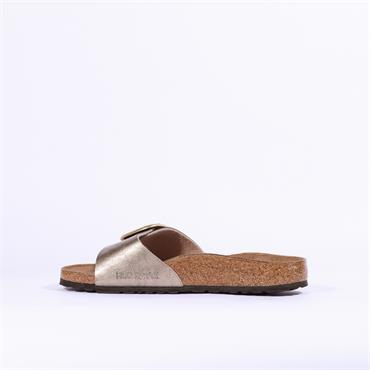 Birkenstock Madrid Big Buckle Birko-Flor - Graceful Taupe