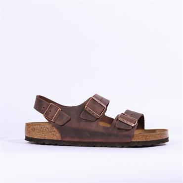 Birkenstock Milano Oiled Leather - Habana