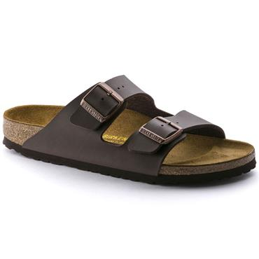 Birkenstock Men Arizona Birko-Flor - Dark Brown