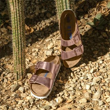 Birkenstock Arizona Soft Footbed - Metallic Copper