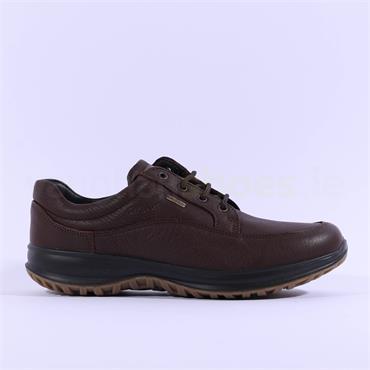 Grisport Men Livingstone Laced Shoe - Brown