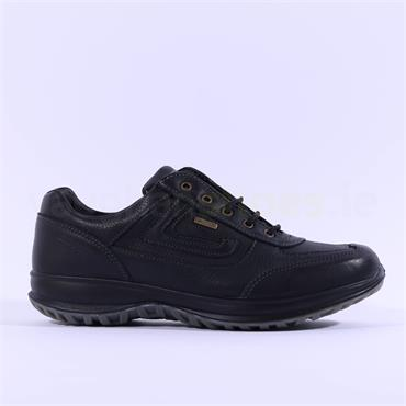 Grisport Men Airwalker Laced Shoe - Black