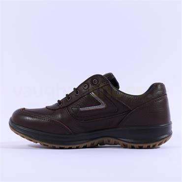 Grisport Men Airwalker Laced Shoe - Brown