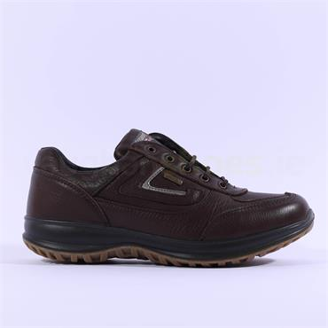 Grisport Men Airwalker Laced Shoe - Brown
