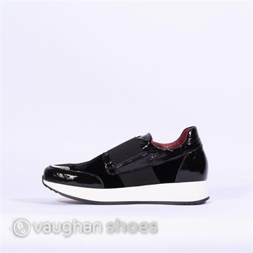 Marco Moreo Slip On Trainer With Band - Black
