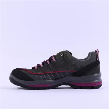 Grisport Women Lady Nova Shoe - Grey Pink