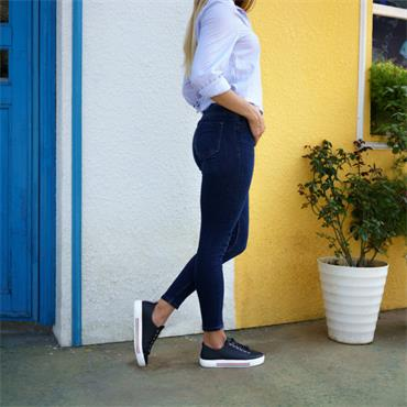 Remonte Platform Laced Shoe Columbo - Navy