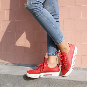 Remonte Platform Laced Shoe Harar - Red
