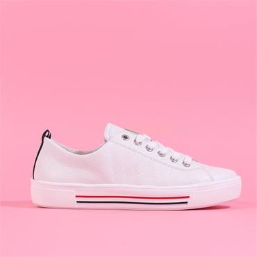 Remonte Platform Laced Shoe Harar - White