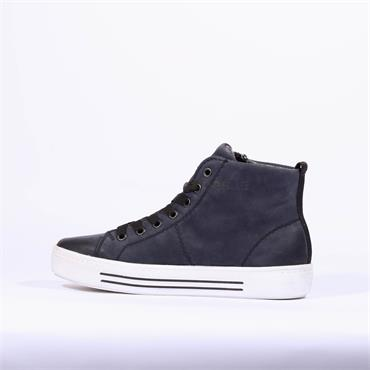 Remonte Platform Laced Boot Columbo - Navy Nubuck