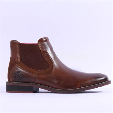 Dubarry Santos Gusset Boot - Tan Leather