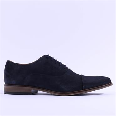 Dubarry Men Sigfield Laced Toe Cap Shoe - Navy Suede