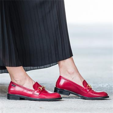 Marco Moreo Lynn Slip On Loafer Links - Red