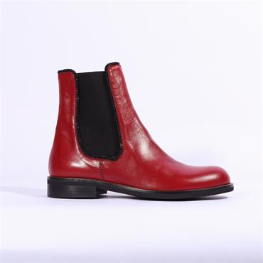 Marco Moreo Lynn Side Gusset Boot - Red