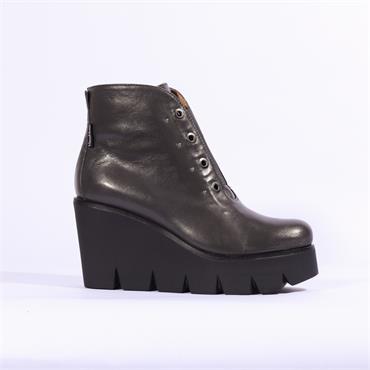 Marco Moreo Gilda Platform Ankle Boot - Grey