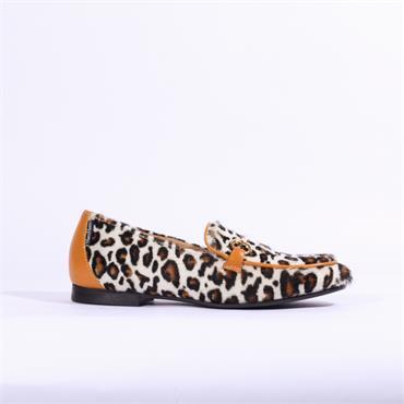 Marco Moreo Lisa Leopard Loafer - Leopard Skin