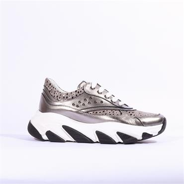 Marco Moreo Chunky Sole Trainer - Grey Combi