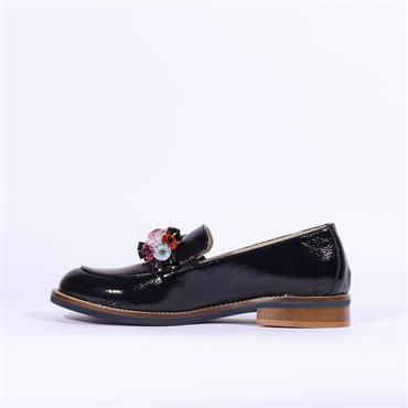 Marco Moreo Lynn Loafer Jewel Band - Navy