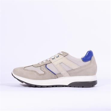 Igi & Co Comfort Leather Trainer - Light Grey