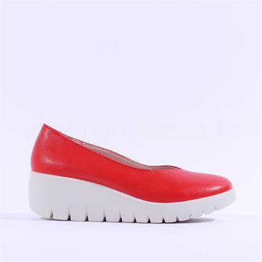 Kate Appleby Slip On Wedge Hove - Red
