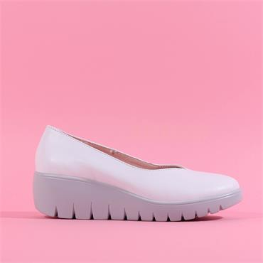 Kate Appleby Slip On Wedge Hove - White