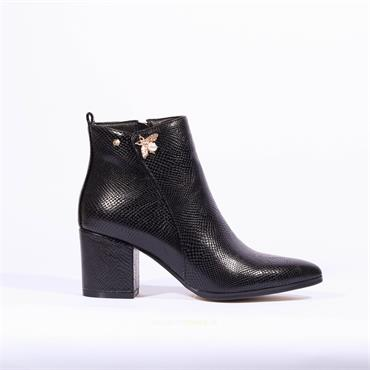 Kate Appleby Keswick Bee Boot - Black Snake