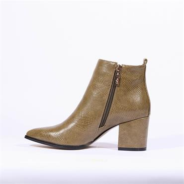 Kate Appleby Keswick Bee Boot - Moss Snake