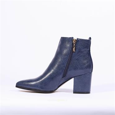 Kate Appleby Keswick Bee Boot - Navy Snake