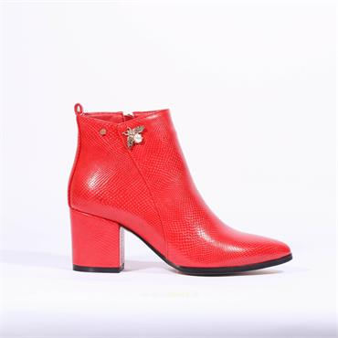 Kate Appleby Keswick Bee Boot - Red Snake