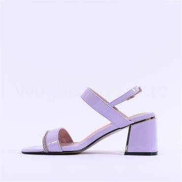 Kate Appleby Tintagel Diamante Sandal - Lilac Patent