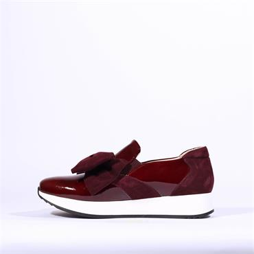 Marco Moreo Bow Detail Trainer Enrica - Wine Patent