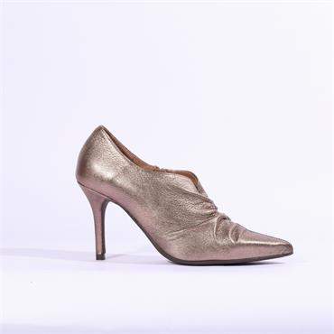 Marian Folded Leather Boot Corin - Bronze Leather