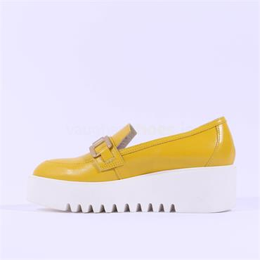 Marco Moreo Slip On Link Platform Laurie - Yellow Leather