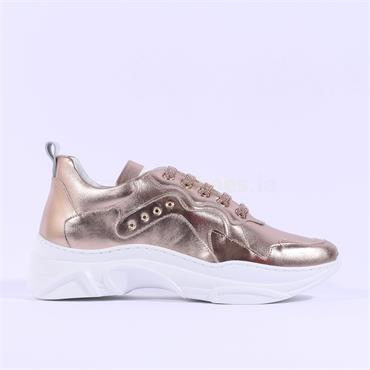Marco Moreo Laced Chunky Trainer Martina - Rose Gold
