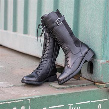 Remonte Laced Millitary Boot Cristallino - Black