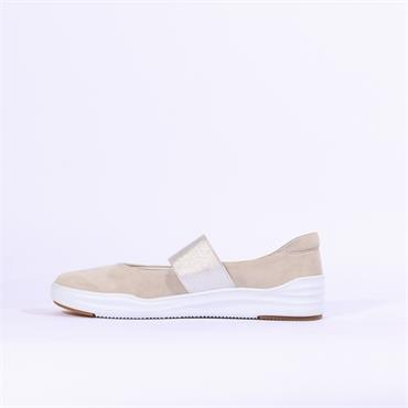 Regarde Le Ciel Slip On Stretch Band - Beige
