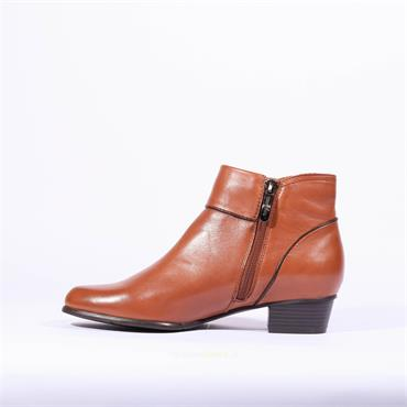Regarde Le Ciel Pipe Trim Boot Stefany - Tan Soft Leather